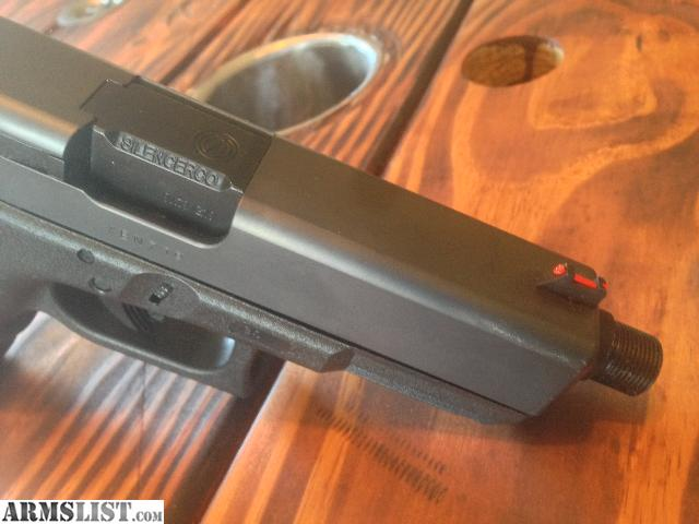 Pa Sales Tax >> ARMSLIST - For Sale: Glock 19 Silencerco 1/2-28 TPI Threaded Barrels