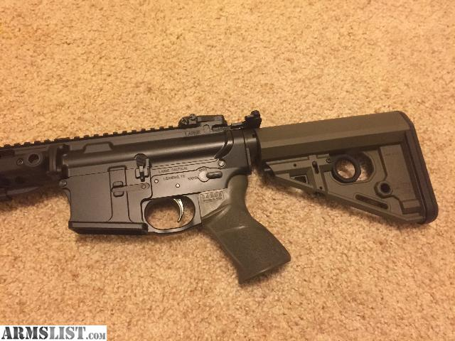 For Sale: Nightforce 3.5-15x50 F1 NXS Riflescope with LaRue Tactical OBR QD  Scope Mount, LT111