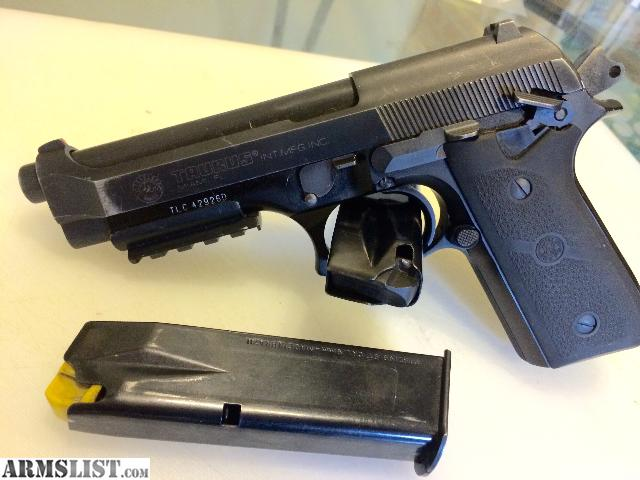 Armslist For Sale Taurus Pt 92 9mm Pistol 2 17 Rd Mags $ Www