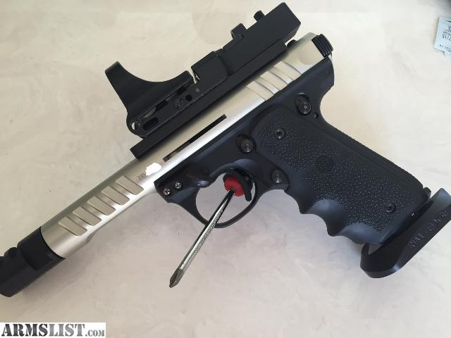 Armslist For Sale Ruger 22 45 Lite Open Race Gun