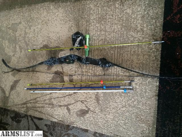 Armslist for sale browning gear pse recurve for Bow fishing gear