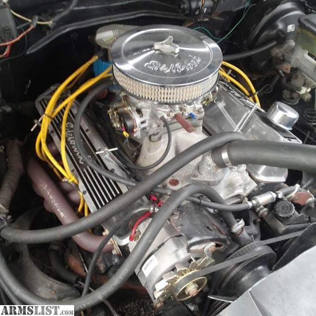 Chevy 350 Engine With Transmission For Sale: For Sale: 1992 Chevy Silverado 350 Board 60