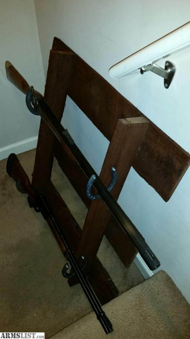 Armslist for sale rustic gun display rack