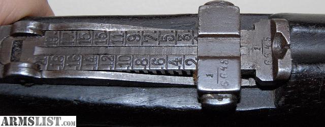 Model 1893 Turkish Mauser