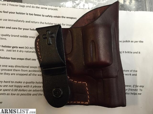 ARMSLIST - For Sale: New custom S&w J Frame holster