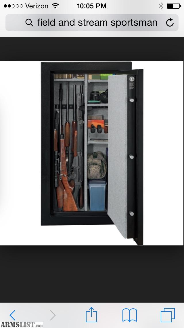 ARMSLIST - For Sale: 24 Gun Field and Stream Safe, Fire Rated
