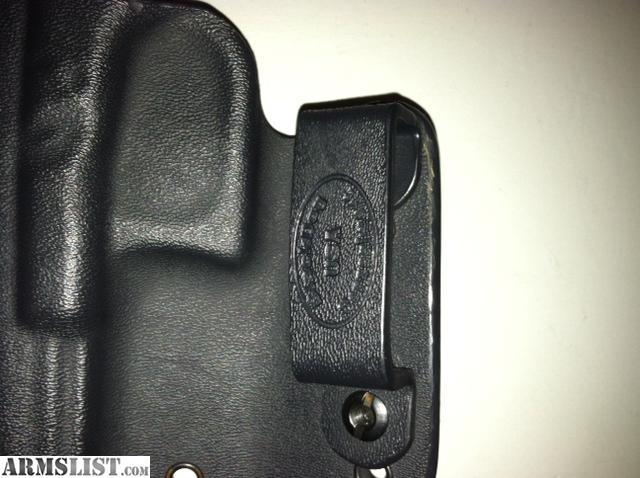 ARMSLIST - For Sale: BLack Dog Concealment Holster - Glock 19/23