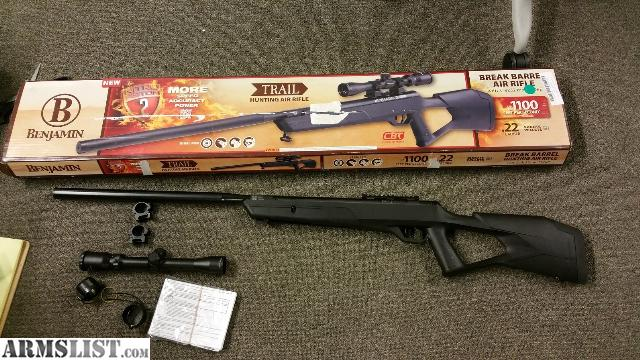 Benjamin trail nitro piston 2 air rifle with 3-9x32mm scope