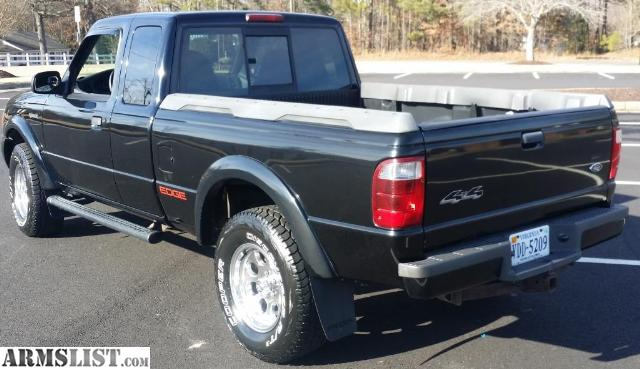 armslist for sale ford truck ranger edge 4x4. Black Bedroom Furniture Sets. Home Design Ideas