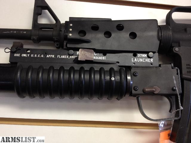 ARMSLIST - For Sale: Olympic Arms PLinker AR15 with 37mm ...