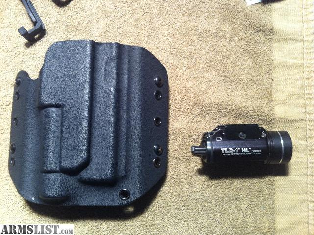 ARMSLIST - For Sale: Streamlight TLR-1 HL (630 Lumen) pistol light ...