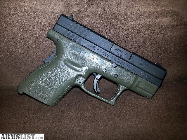 Armslist For Sale Springfield Xd 40 Subcompact Od