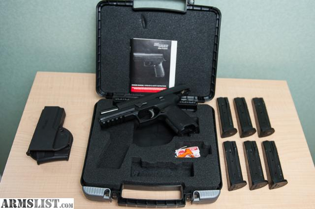 ARMSLIST - For Sale: Sig Sauer P320 Full Size 9-mm KIT With 6-Mags