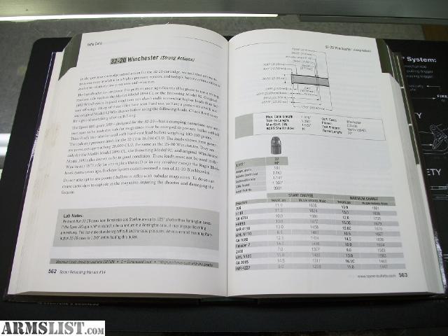 Reloading Manual Speer Bullets Books