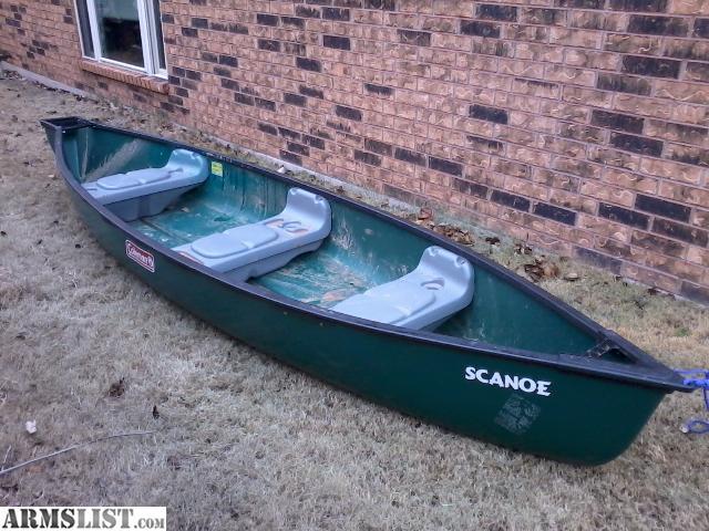 Armslist For Sale Coleman Scanoe 14 Foot Green Flat