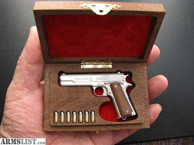 Armslist for sale hand made 1 3 scale miniature colt - Replica mobel legal ...