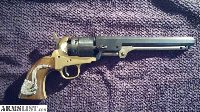 armslist for sale 1851 navy revolver replica man with
