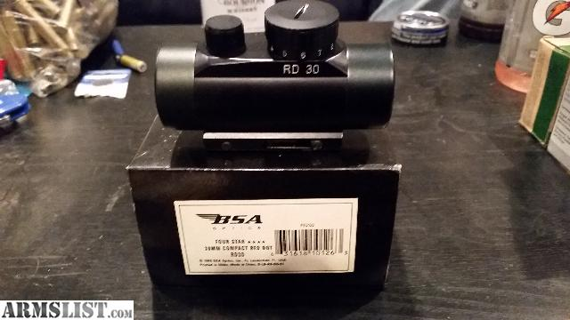 bsa red dot rd30 manual