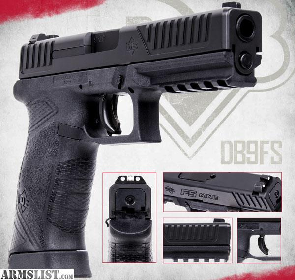 ARMSLIST - For Sale/Trade: Diamondback 9mm DBFS Full size