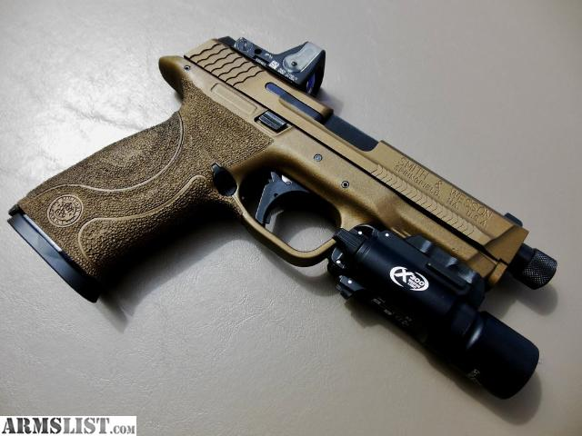 ARMSLIST - For Sale: Custom Smith & Wesson M&P 9mm - Lots of Extras