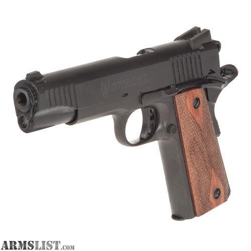 ARMSLIST - For Sale: Citadel M1911-A1 (9mm)