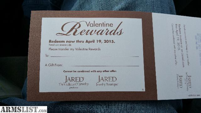 ARMSLIST For SaleTrade 100 Jared the Galeria of Jewelry rewards