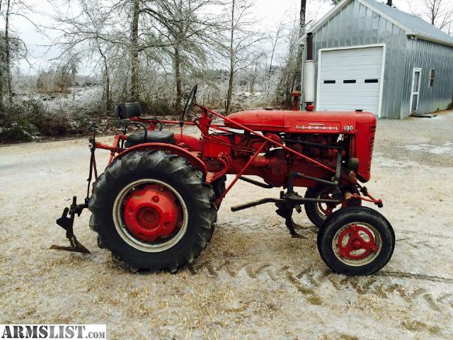 Armslist for sale farmall 130 garden tractor for Garden equipment for sale