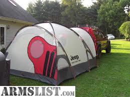 Large Jeep tent. Never used. Came with a 2003 Jeep Liberty sport package. Comes with duffel bag. Cash or would trade for 22 wmr / magnum rifle ... & ARMSLIST - For Sale: Jeep Tent