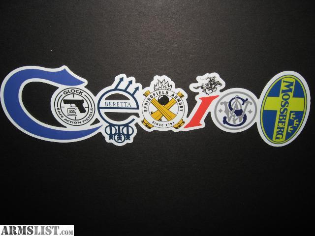 Armslist For Sale Original Coexist Gun Bumper Sticker