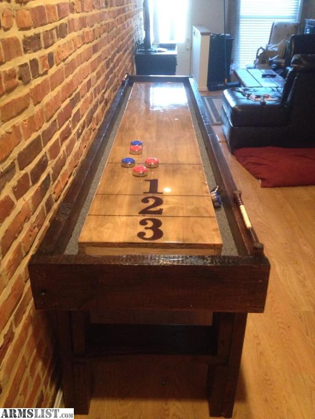 I Build Custom Furniture And Shuffleboard Tables, Looking To Trade For  Guns, Ammo, Etc. If Its On Armslist There Is A Good Chance I Am In To It.