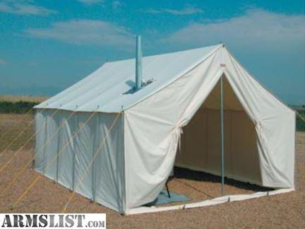 A 14 X 16 Wall tent with a rear window zippered door rain fly back window sod cloth 4.5u201d oval stove jack with cover flap and additional vents for air ... & ARMSLIST - For Sale: Alaska Tent u0026 Tarp 14 X 16 Wall Tent