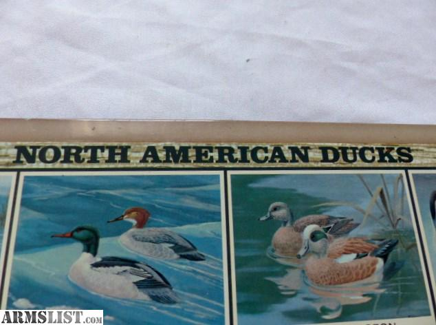 ARMSLIST - For Sale: Vintage Federal Ammo Ducks of North ...