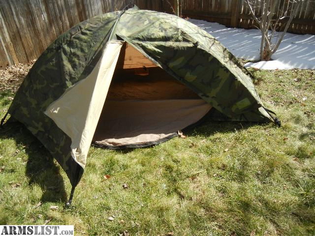Backpacking Tent Hiking Tent Combat Tent Eureka 3 Season Tent Military Surplus Tent TCOP ICS 2000 bugout prepper & ARMSLIST - For Sale: Used Eureka TCOP Tactical One Person Tent
