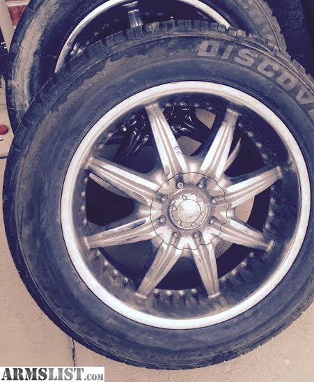 """For Sale/Trade: GM Silverado 20"""" Aluminum Rims"""