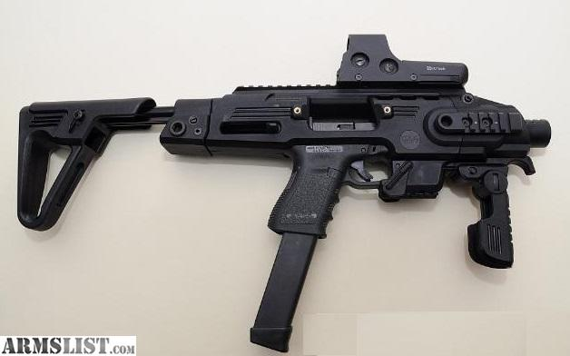 Armslist For Sale Roni G2 Caa Sbr Pistol Stock For