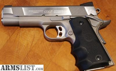 ARMSLIST - For Sale: Colt 1911 A1 45 ACP Concealed Carry Officers ...