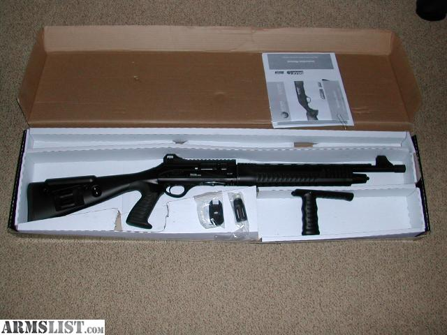 armslist for sale escort gladious 20 gauge tactical semi auto shotgun. Black Bedroom Furniture Sets. Home Design Ideas