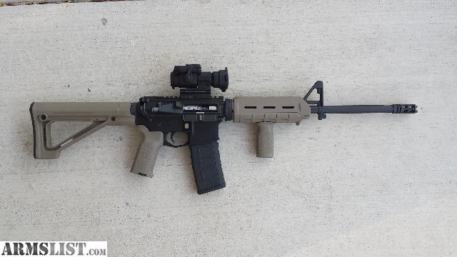 Armslist For Sale Ar15 Fde Carbine W Aimpoint Pro 556 Nato