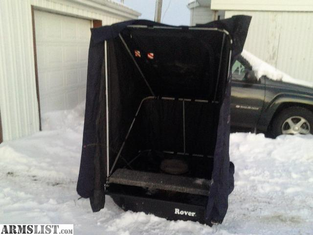 Armslist for sale shappell rover 1 5 ice shanty for Ice fishing shanty for sale