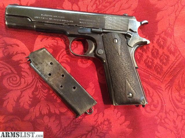 ARMSLIST - For Sale: Colt 1911 made 1912 4-digit S/N