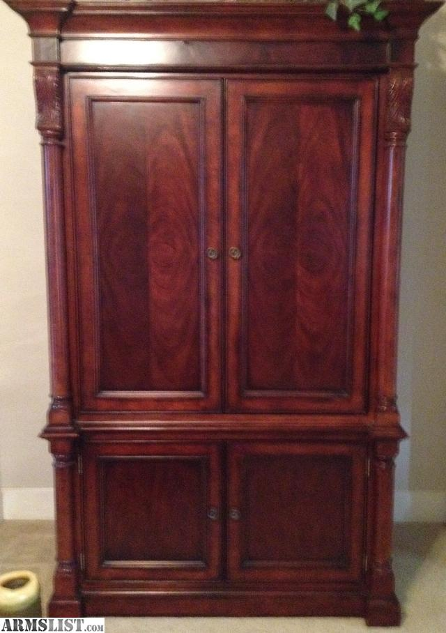 ARMSLIST - For Sale: Heavy Solid Wood Armoire