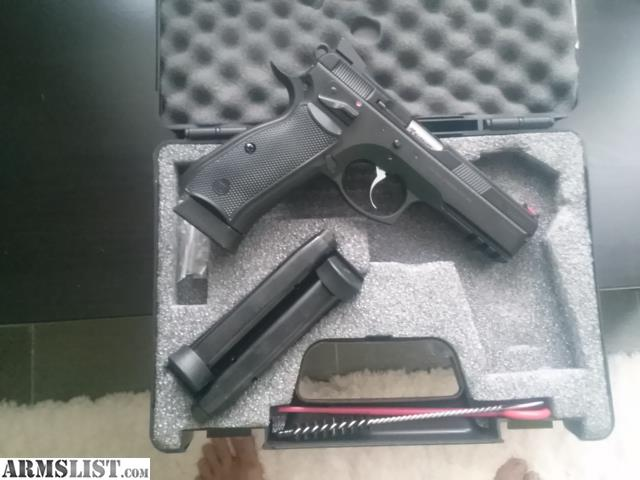 Cz 75 extended magazine release : Apparitional film