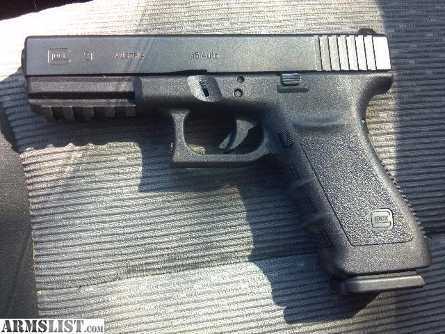 ARMSLIST - For Sale/Trade: Custom Glock 21sf for HK VP9