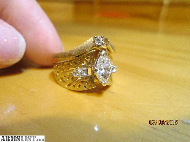ARMSLIST For Sale Womens wedding ring engagement ring set worth 4000 for t