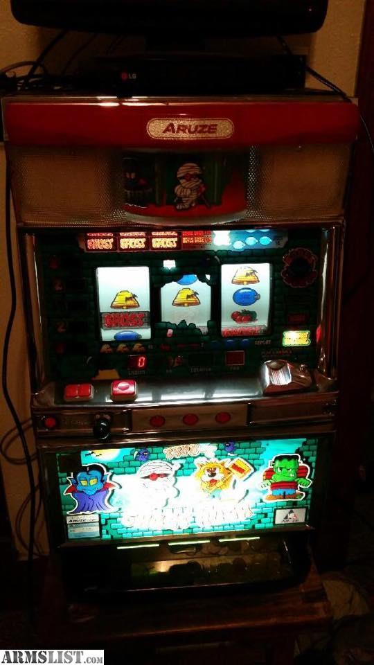 aruze slot machine for sale