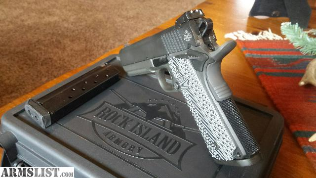 Rock Island Armory Mm Mid Size Tactical   For Sale
