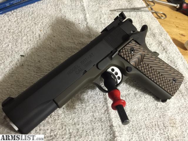 ARMSLIST - For Sale: Springfield Range Officer 1911 9mm