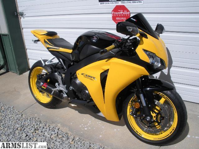 ARMSLIST For Sale 2008 Honda CBR1000RR w 6 100 miles