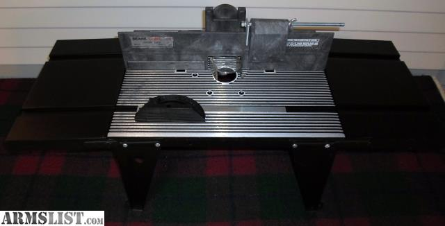 Armslist for sale sears craftsman router table model 9 25479 this sears router table is in good condition the table dosnt include a motor but has pre drilled holes to install one greentooth Choice Image