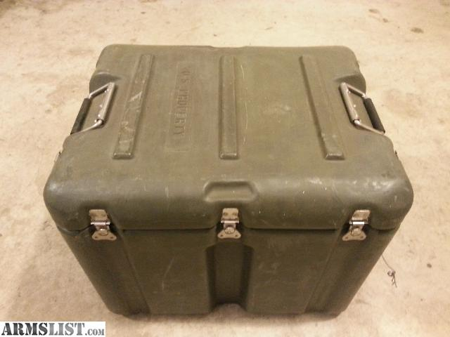 ARMSLIST For Sale US Military Surplus Storage Container